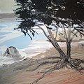 Tree By The Sea By Betty by Art Without Boundaries