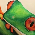 Tree Frog by Britta Hennessy