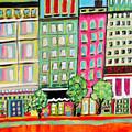 Tree Line Avenue by Karen Fields