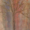 Tree - Metallic 1 by Jacqueline Athmann