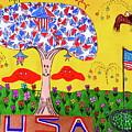 Tree Of Freedom And Glory by Neal Alicakos