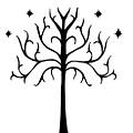 Tree Of Gondor Crest by Kayleigh Semeniuk