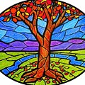 Tree Of Grace - Autumn by Jim Harris