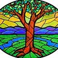 Tree Of Grace - Summer by Jim Harris