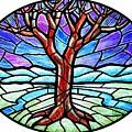 Tree Of Grace - Winter by Jim Harris