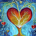 Tree Of Hearts by Art By Ela
