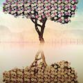 Tree Of Life by Nannie Van der Wal