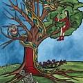 Tree Of Life Temptation And Death by Deidre Firestone