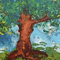 Tree Of Plenty by Empowered Creative Fine Art