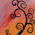 Tree V Wr by Mrs Wilkes Art