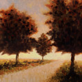 Trees At Sunset by Rob Blauser