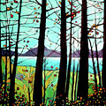 Trees In Fall by Alison Newth