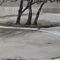 Trees In The Park by Karen Boudreaux