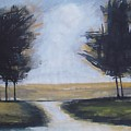 Trees on Rural Road 2 by Vesna Antic