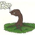 Trees Smokin' Trees by Steve Weber