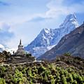 Trekking The Himalayas by Scott Kemper