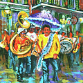 Treme Brass Band by Dianne Parks