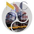 Trendy Design New York City Geometric Mix No 2 by Melanie Viola
