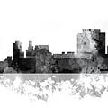 Trenton New Jersey Skyline by Marlene Watson