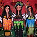 Tres Angelicas by Pristine Cartera Turkus