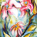 Tres Fleurs In Heat by Vallee Johnson
