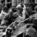 Trevi Fountain Detail 2 by Andrew Fare