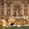 Trevi Fountain by Janet Fikar