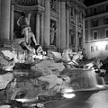 Trevi Fountain Night 2 by Andrew Fare