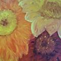 Tri Colored Daisies by Heather Burbridge