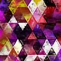 Triangles Impressionism by Kristian Leov