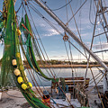 Triangles In The Harbor by Gerald Monaco