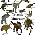 Triassic Dinosaurs by Corey Ford