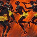 Tribal Dance by Zhan Jianjun