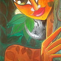 Tribal Lady by Ananya Dutta