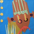 Tribal Mask by Debra Bretton Robinson