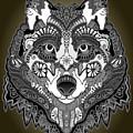 Tribal Wolf by Brian Swanke