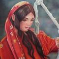 Tribal Woman by Saba Aghajan