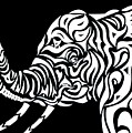 Tribephant Reverse by Larry Overstreet
