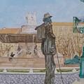 Tribute To Cezanne by Coco de la garrigue