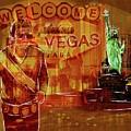 Tribute To Vegas Collage by Eduardo Tavares