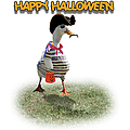 Trick Or Treat For Cap'n Duck by Gravityx9 Designs