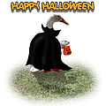 Trick Or Treat For Count Duckula by Gravityx9  Designs