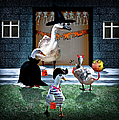 Trick Or Treat Time For Little Ducks by Gravityx9  Designs