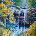Trickles From Heaven II by Donna Pierce-Clark
