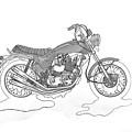 Trickley Triumph X75 by Stephen Brooks
