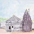 Trimbakeshwar Jyotirlinga by Keshava Shukla