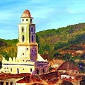 Trinidad Church Cuba by Maria Soto Robbins