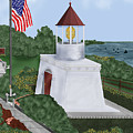 Trinidad Memorial Lighthouse by Anne Norskog
