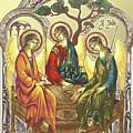 Trinity After Rubliov by Iosif Ioan Chezan