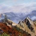 Trinity Alps by Lynne Parker